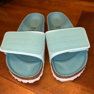 Birkenstock Teal Sandals / slides